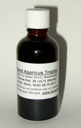 50ml Agaricus Tropfen, Extrakt, Agaricus Blazei Murill Konzentrat - Bild vergrößern