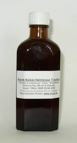 100ml Baikal- Helmkraut Tropfen, Scutellaria baicalensis Konzentrat - Bild vergrößern
