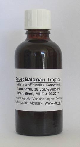 100ml Baldrian Extrakt, Tropfen, Konzentrat - Bild vergrößern