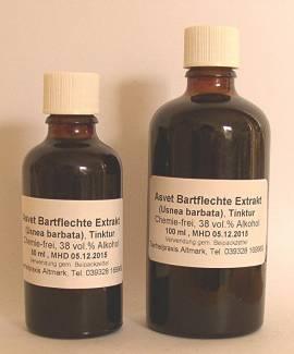 100ml Bartflechte Extrakt, Usnea Barbata Tropfen, Konzentrat - Bild vergrößern