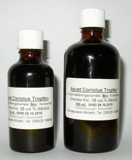 100ml Coriolus Tropfen, Extrakt, Konzentrat - Bild vergrößern