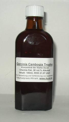200ml Garcinia cambogia Tropfen,  Extrakt, Konzentrat - Bild vergrößern