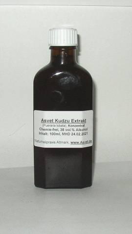 100ml Kudzu Extrakt, Pueraria lobata Tropfen, Konzentrat - Bild vergrößern