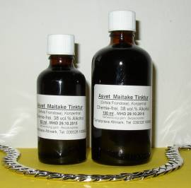 100ml Maitake flüssiger Extrakt, Grifola Frondosa Tropfen, Konzentrat - Bild vergrößern