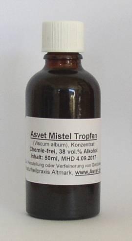 100ml Mistel Tropfen, Extrakt, Konzentrat  - Bild vergrößern