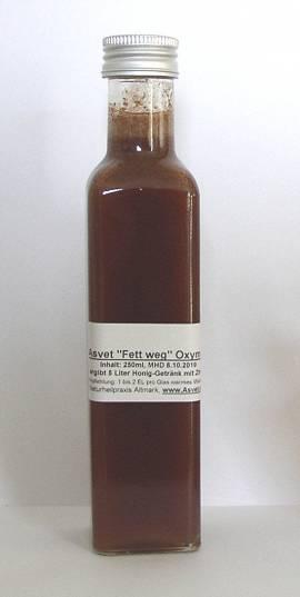 250ml -Fett weg- Oxymel mit Zimt zum Abnehmen, Konzentrat für 5 Liter Honig-Getränk - Bild vergrößern