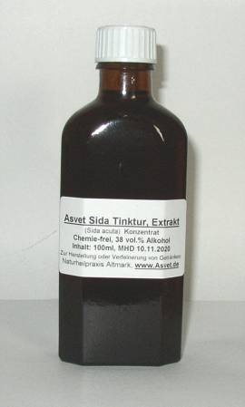 50ml Sida acuta Extrakt, Tropfen, Konzentrat - Bild vergrößern