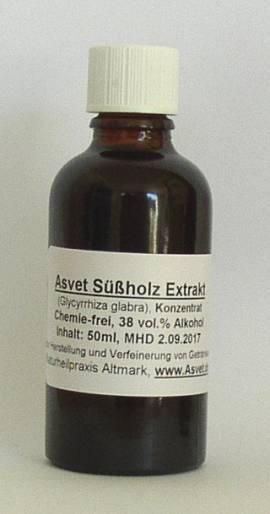 100ml Süßholz Extrakt, Konzentrat, Süßholzwurzel Tropfen - Bild vergrößern