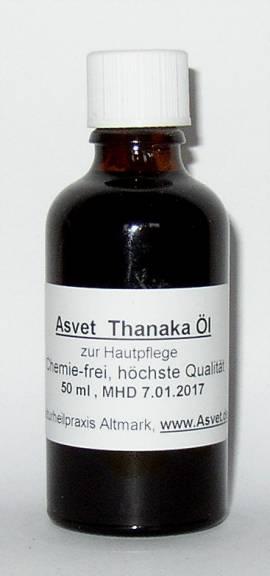 100ml Thanaka Öl, zur Hautpflege, Hautöl - Bild vergrößern