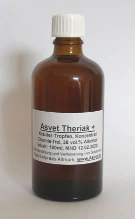 200ml Asvet Theriak + , als gebrauchsfertige Tropfen, Mittelalter, Antike - Bild vergrößern