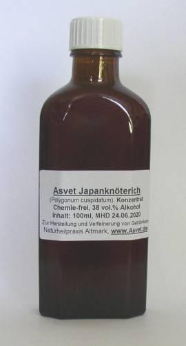 100ml Japanknöterich Tropfen, OPC , Polygonum cuspidatum, Japanischer Staudenknöterich - Bild vergrößern