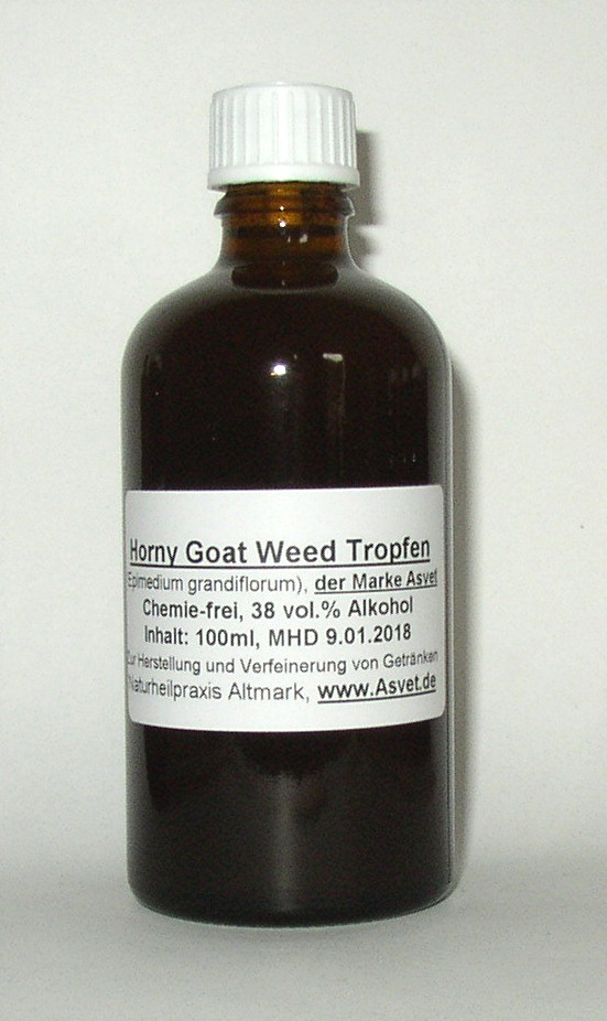 Horny Goat Weed Alkohol
